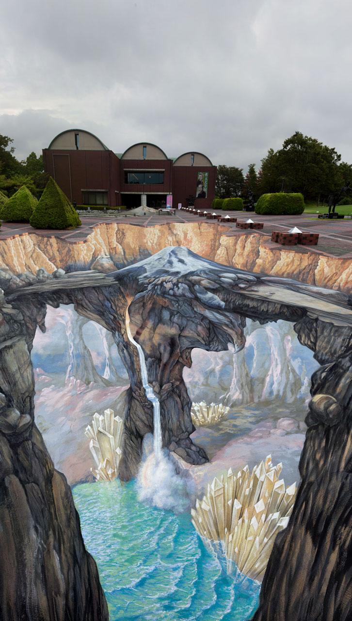 lukisan 3D Street Edgar Mueller